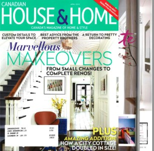 28. House & Home Spring 2014 Cover